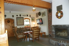 Dom kaszubski - salon, część wypoczynkowa