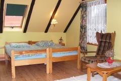Dom Kaszubski sypialnia